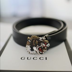 Gucci Tiger Belt